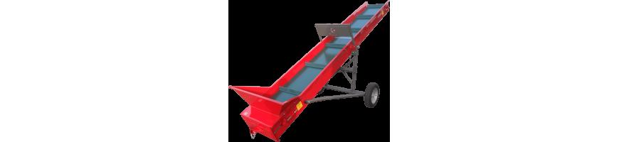 Nastri trasportatori per legna